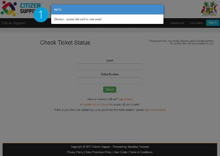 check request status13